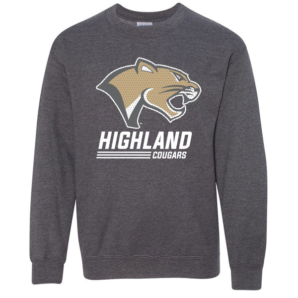 Highland Youth Sweatshirt Stack Cougar