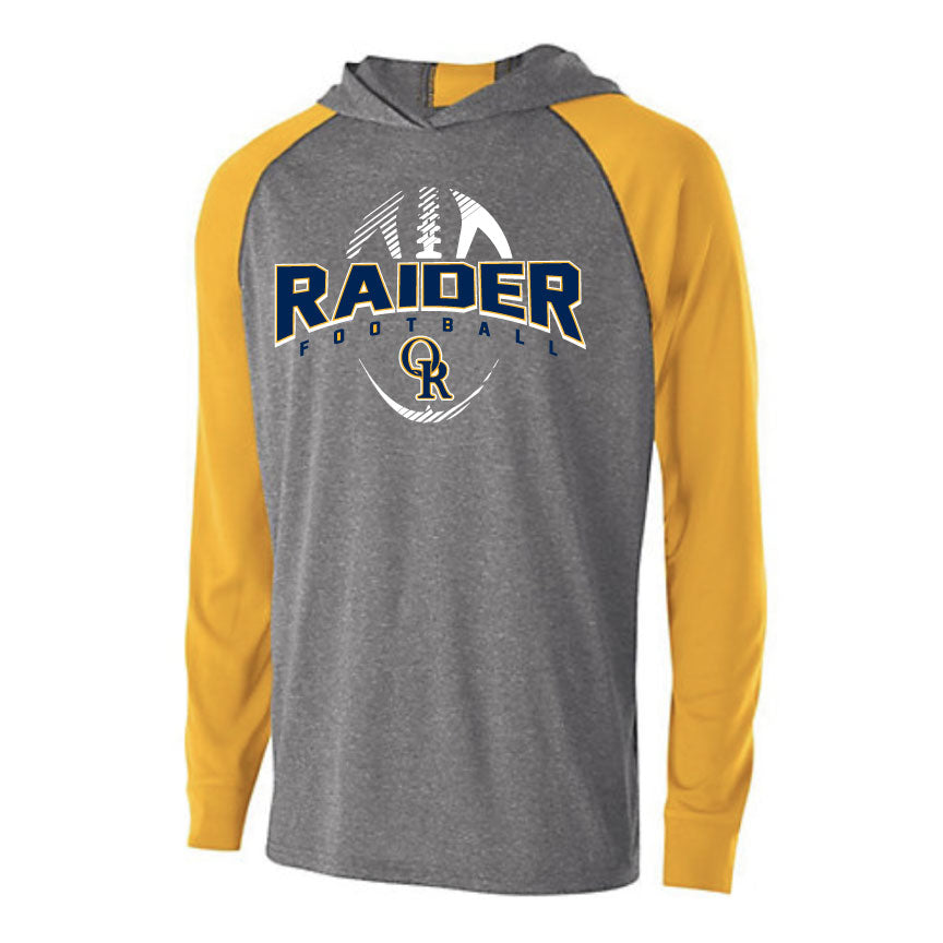 Raider Football 2019 Echo Light Weight Hoodie
