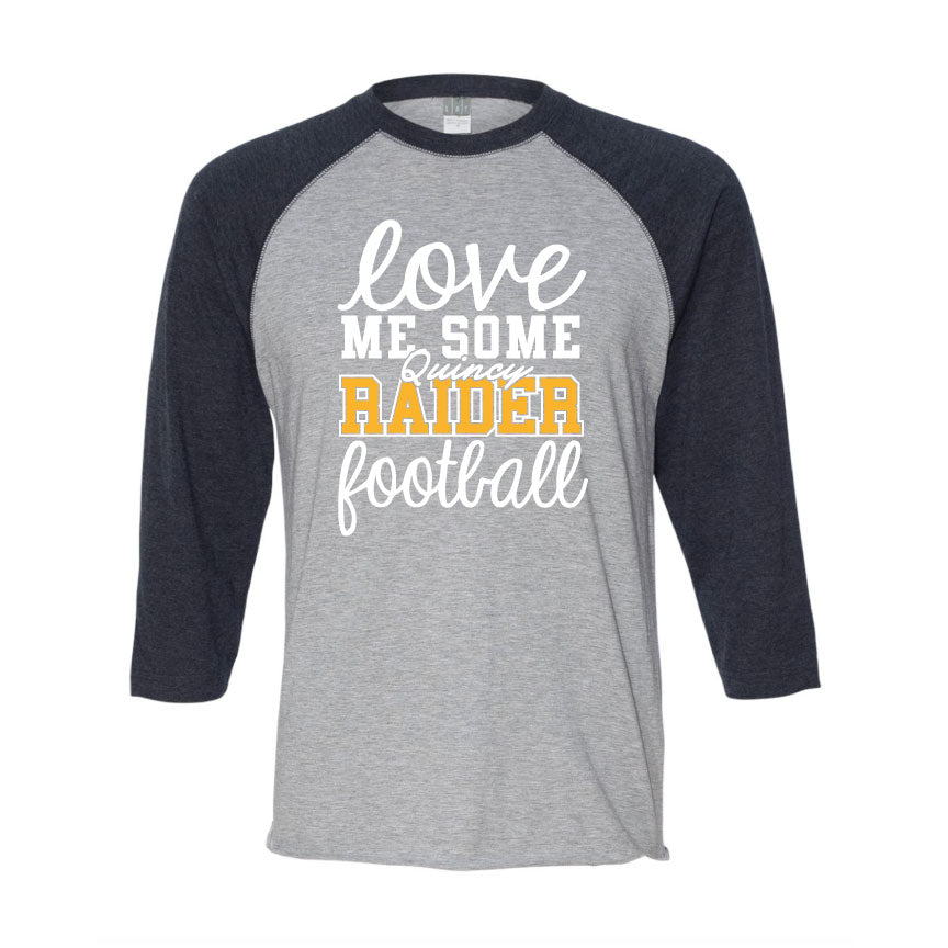 Raider Football 2019 Womens Baseball Tee