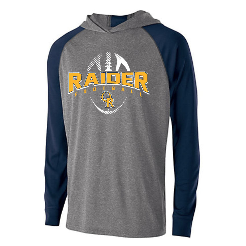 Raider Football 2019 Youth Echo Light Weight Hoodie