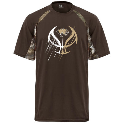 Highland Basketball Camo Drifit T-Shirt