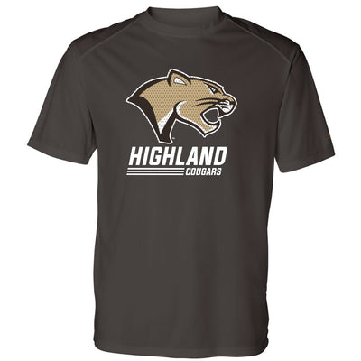 Highland Basketball Drifit T-Shirt