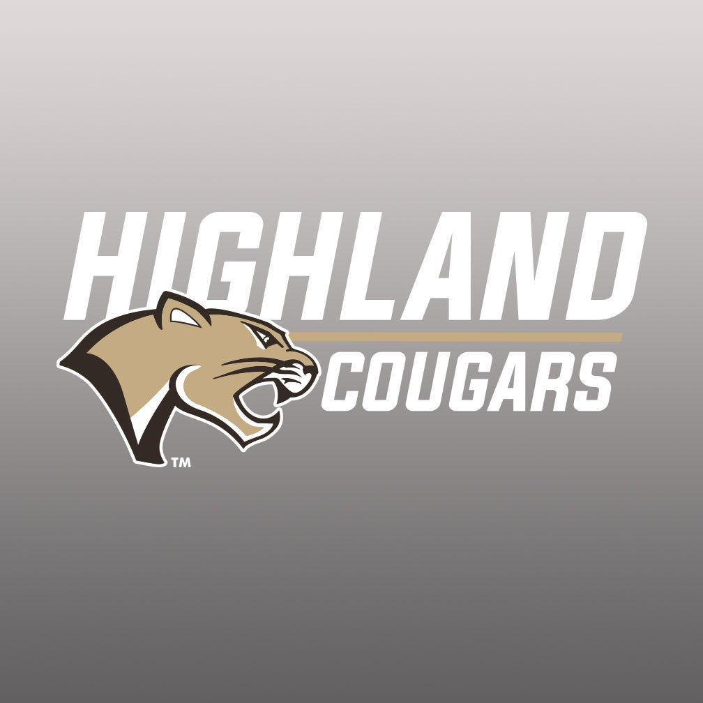 Highland Basketball Window Decal