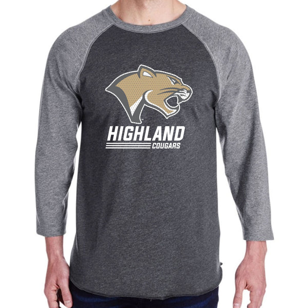 Highland Basketball Baseball T-Shirt