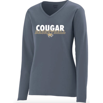 Highland Basketball Drifit V-Neck Long Sleeve