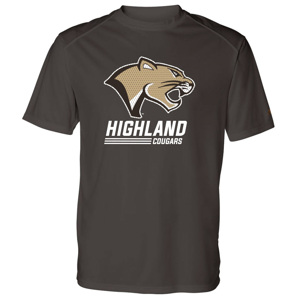 Highland Basketball Youth Drifit T-Shirt