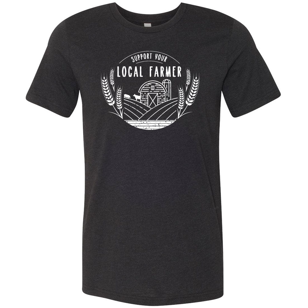 Support Your Local Farmer Softstyle  T-Shirt