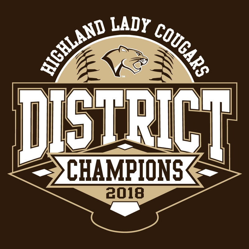 Highland Softball District Championship Crewneck