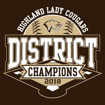 Highland Softball District Championship Youth Hoodie