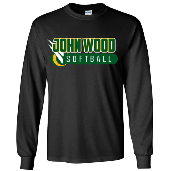 John Wood Softball Long Sleeve T-Shirt