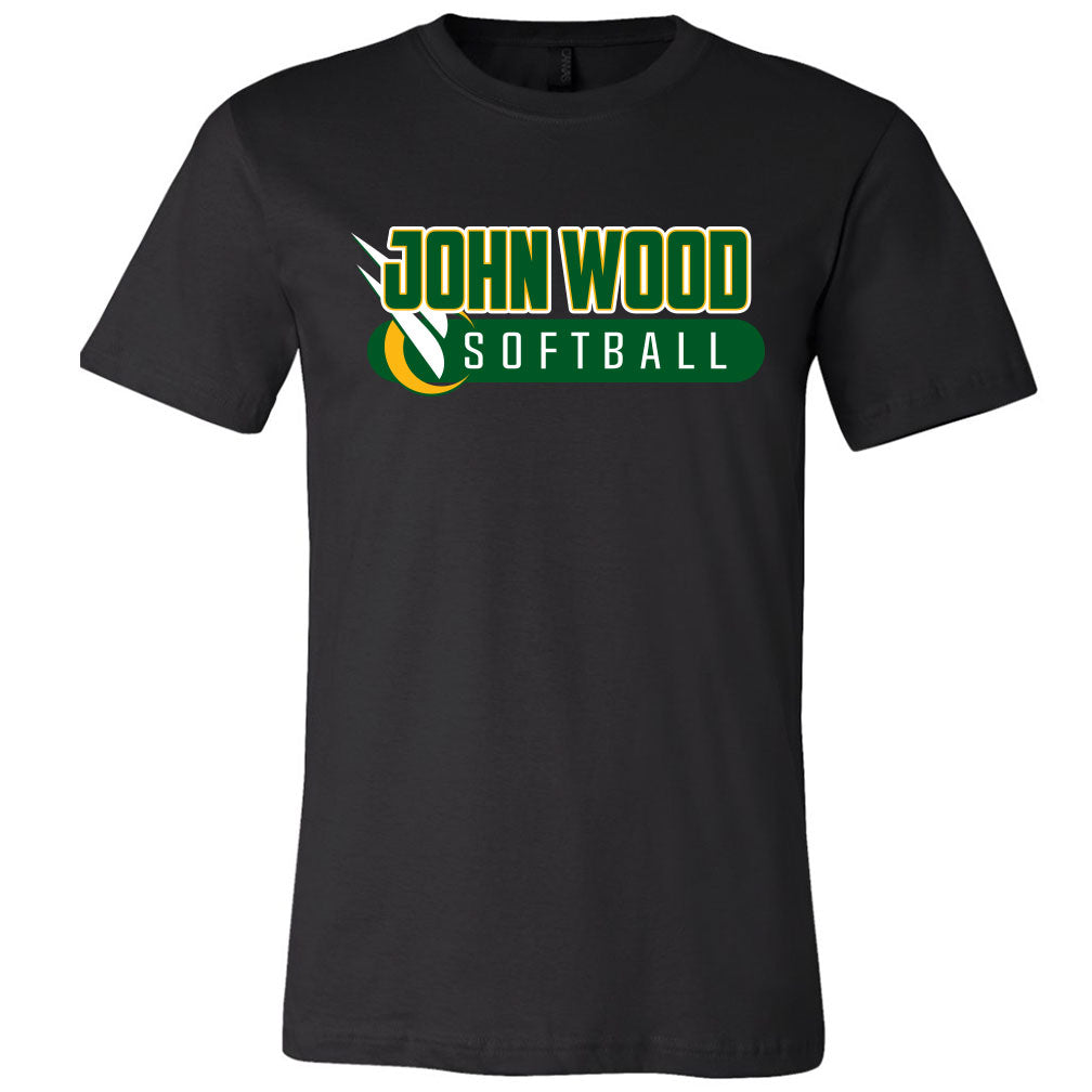 John Wood Softball Softstyle T-Shirt