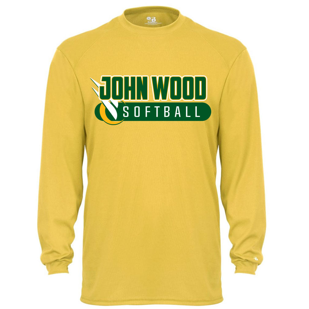John Wood Softball Drifit Long Sleeve