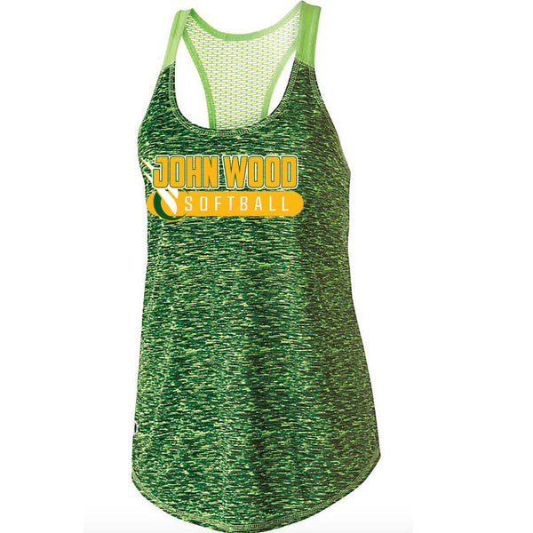 John Wood Softball Ladies Space Dye Tank Top