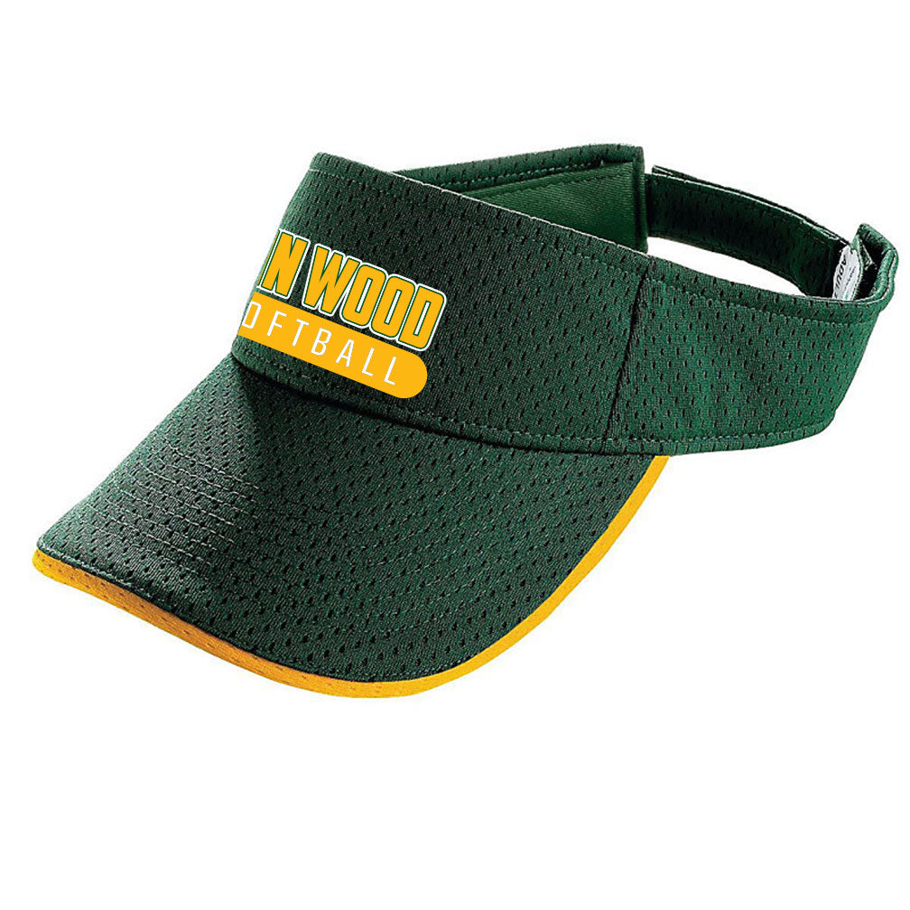 John Wood Softball Augusta Visor
