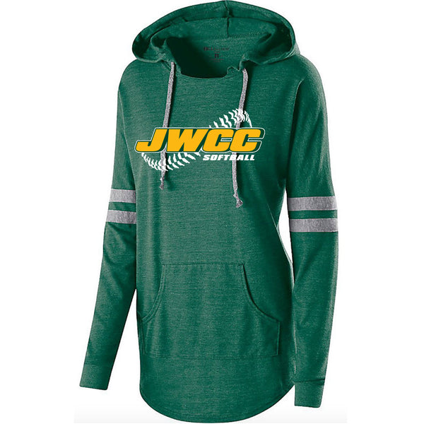 John Wood Softball Woman's Hooded Pullover