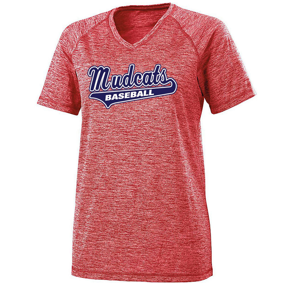 Mudcat Ladies V-Neck Electrify Tee