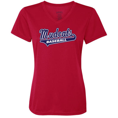 Mudcat Ladies Drifit V-Neck Tee