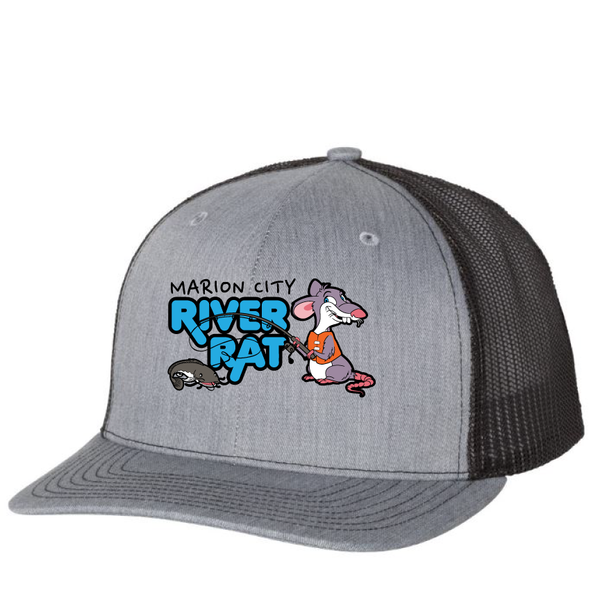 Marion City River Rat Richardson Hat