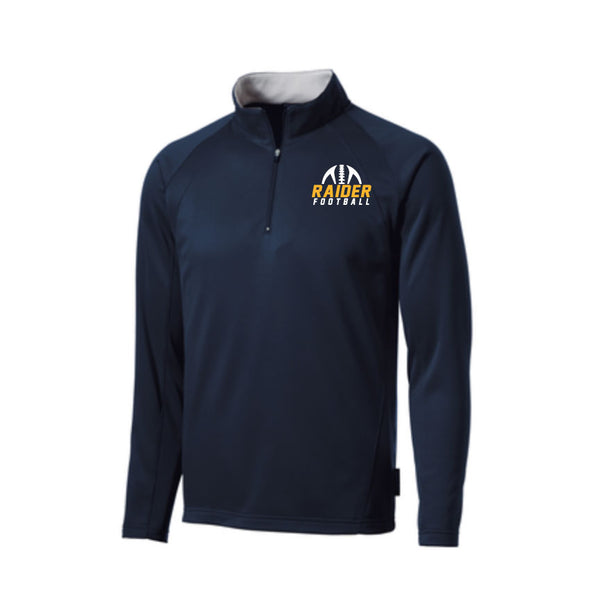 Raider Football 2019 Fleece Lined 1/4 Zip