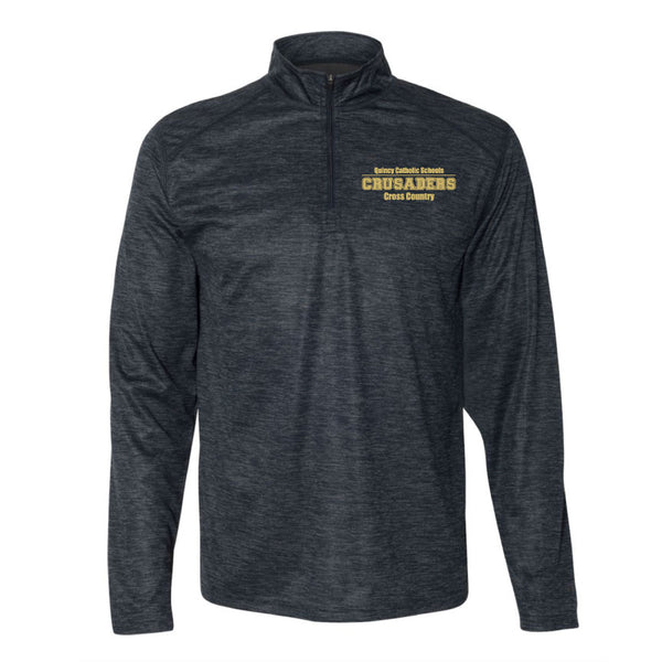 Badger Tonal Blend Fleece 1/4 Zip