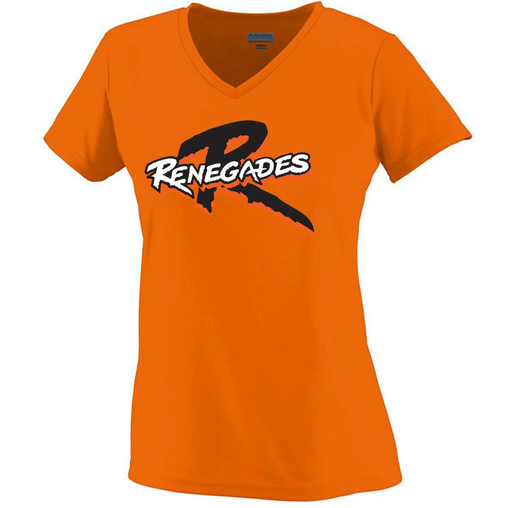 Renegades Ladies Drifit V-Neck Tee