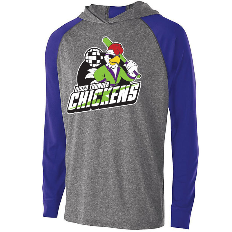 Disco Thunder Chickens Echo Light Hoodies