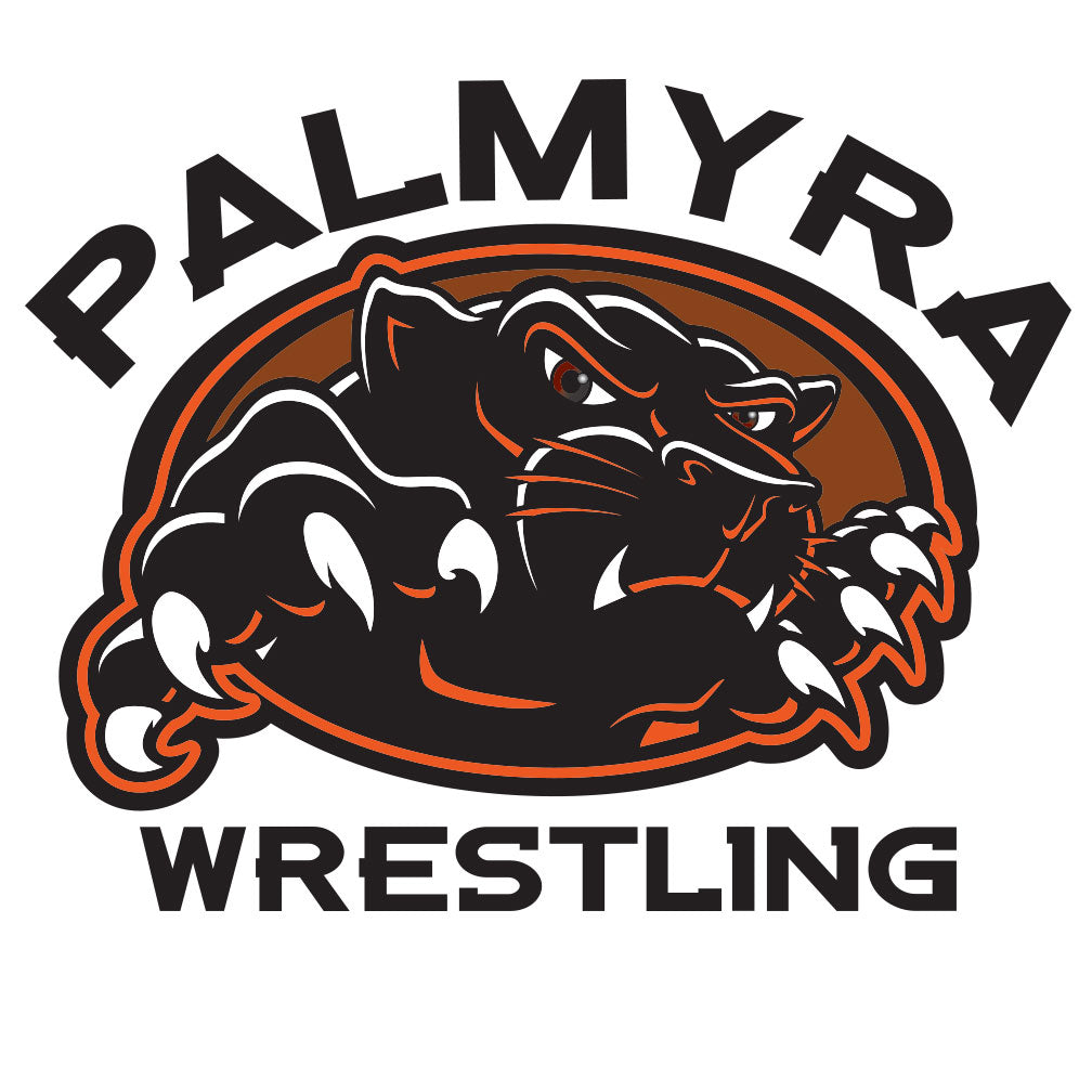 Palmyra Wrestling Window Decal