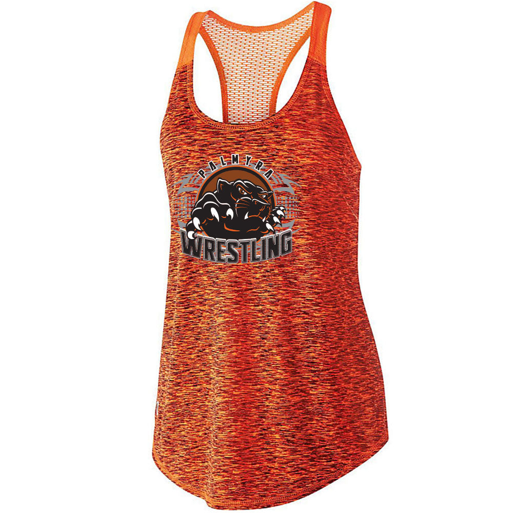 Palmyra Wrestling Space Dye Ladies Tank Top