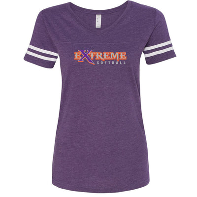 Extreme Softball Ladies Vintage Tee