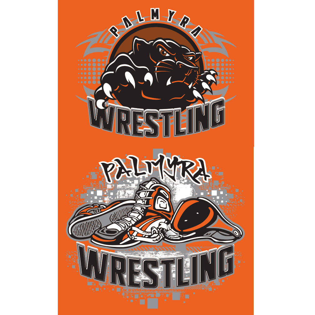 Palmyra Wrestling Women's Electrify V-Neck Drifit T-Shirt