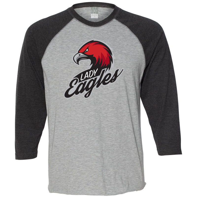 QCCS Winter Sports Baseball T-Shirt