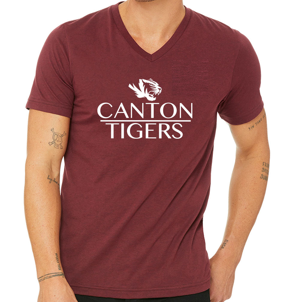 Canton Softstyle V-Neck Tee