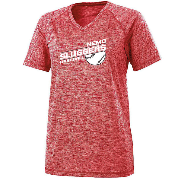 Nemo Sluggers Ladies Electrify Tee