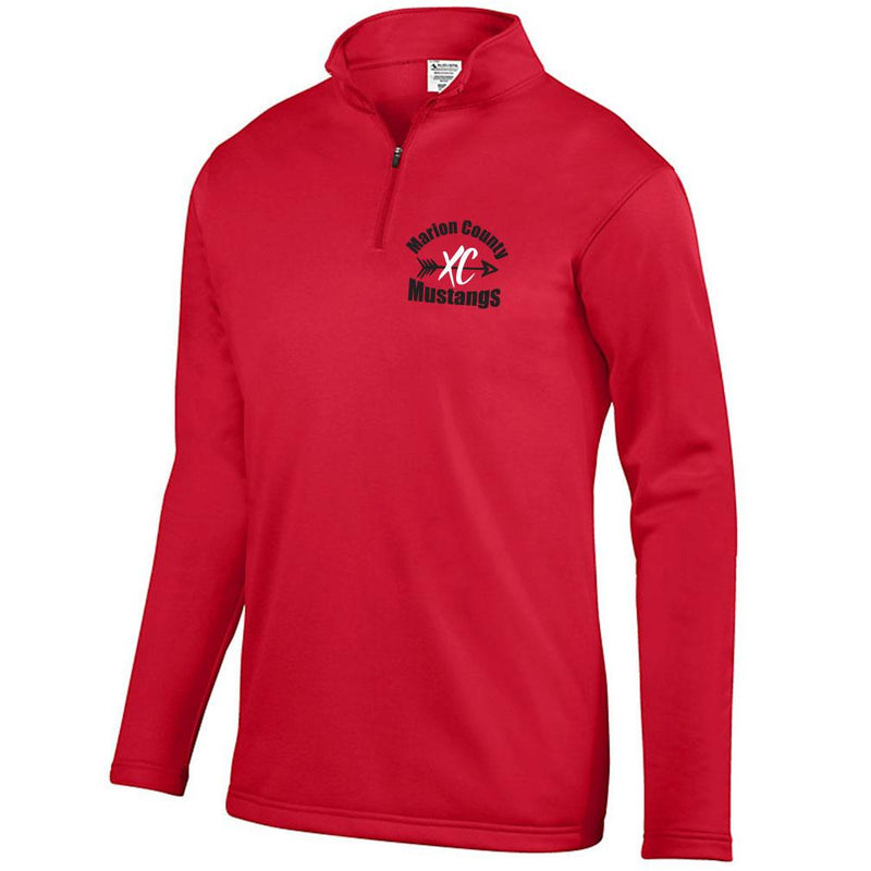 Marion County 2019 Fleece Lined Drifit 1/4 Zip