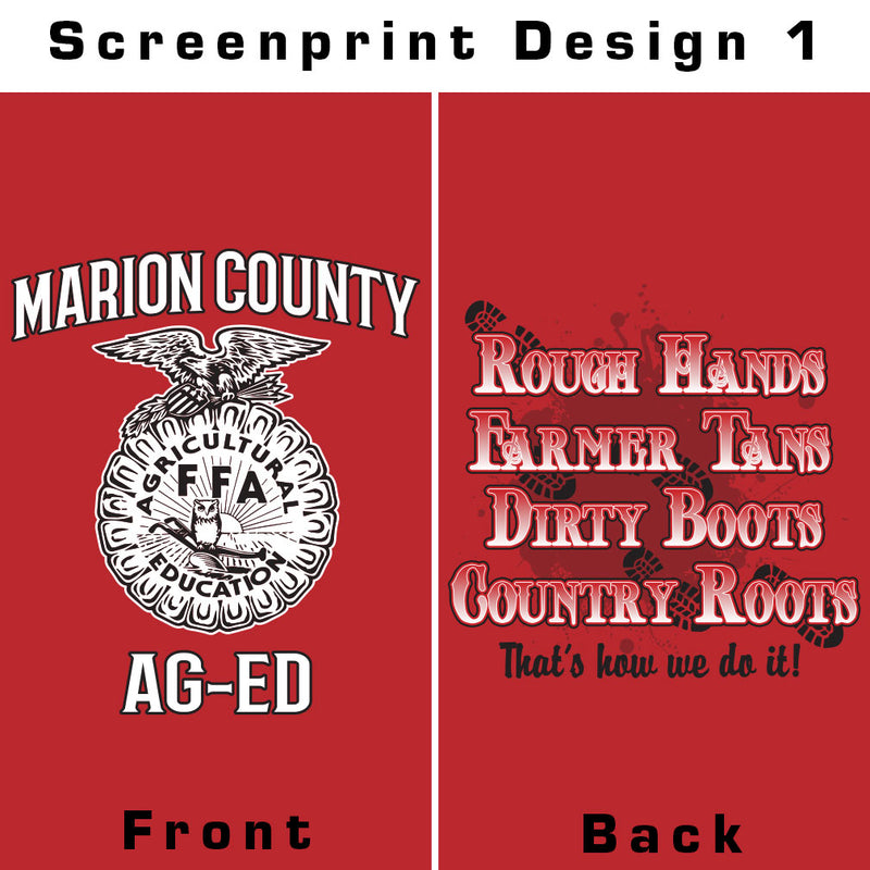 Marion County FFA 2019 T-Shirt