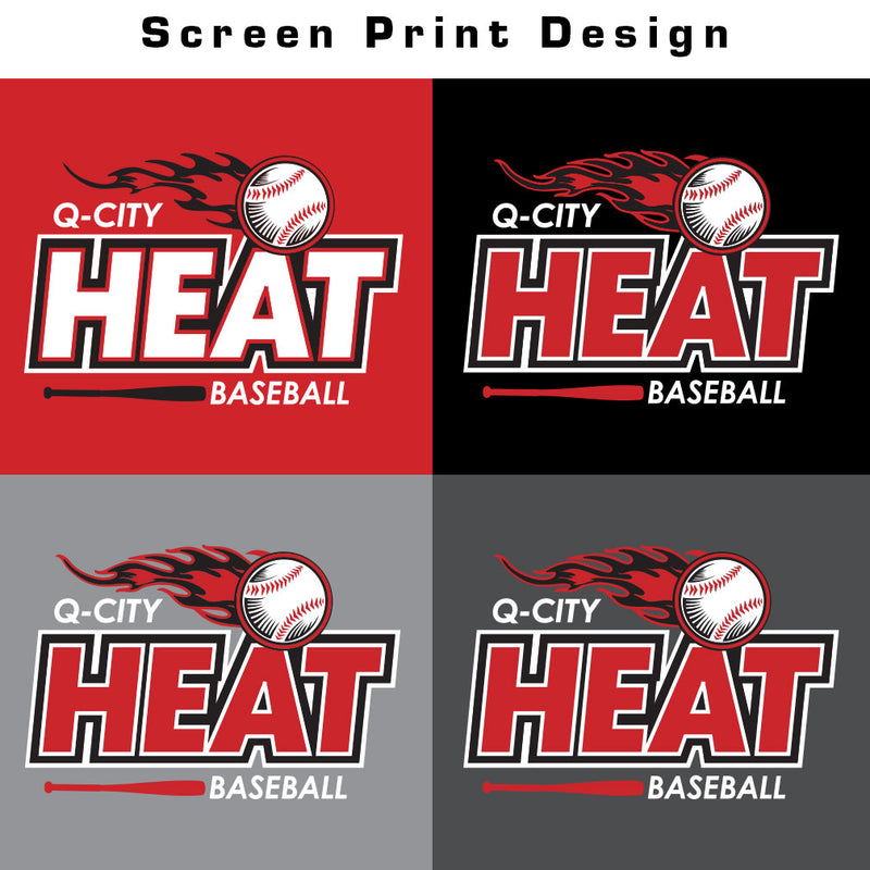 Q-City Heat Softstyle Tee