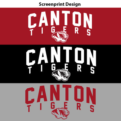 Canton Sweatshirt Arched Tiger