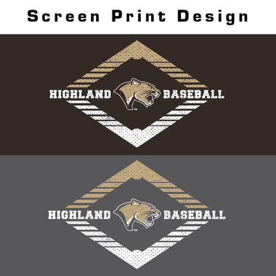 Highland Baseball Youth Long Sleeve