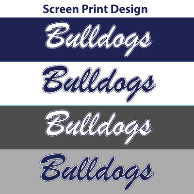 Bulldogs Ladies Drifit V-Neck Tee