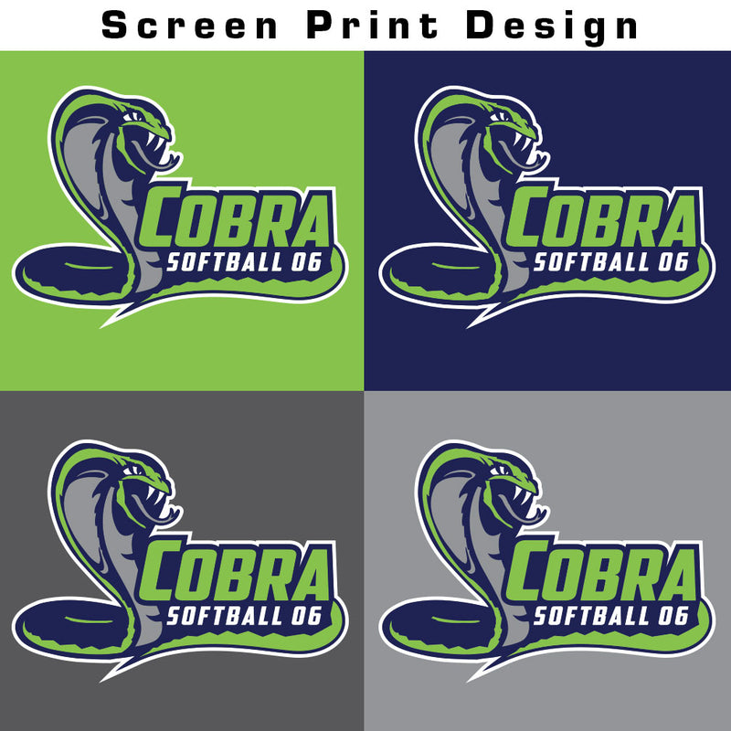 Cobra 06 Softball Colorblock Hoodie