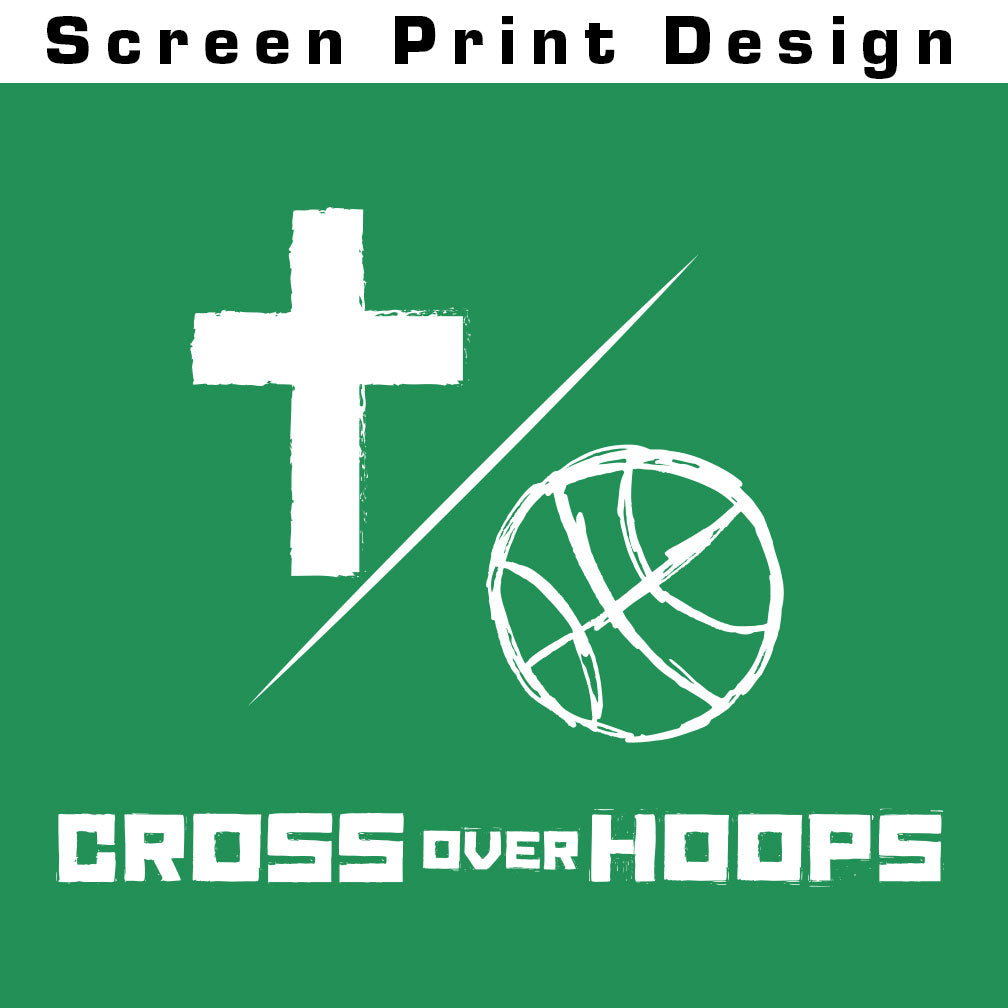 Cross Over Hoops Green Hoodie B