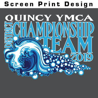 Quincy YMCA Swim Team T-Shirt