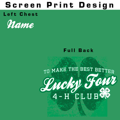 Lucky Four 4-H Club T-Shirt