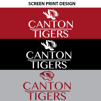 Canton Ladies Flowy Tank Stack Tiger