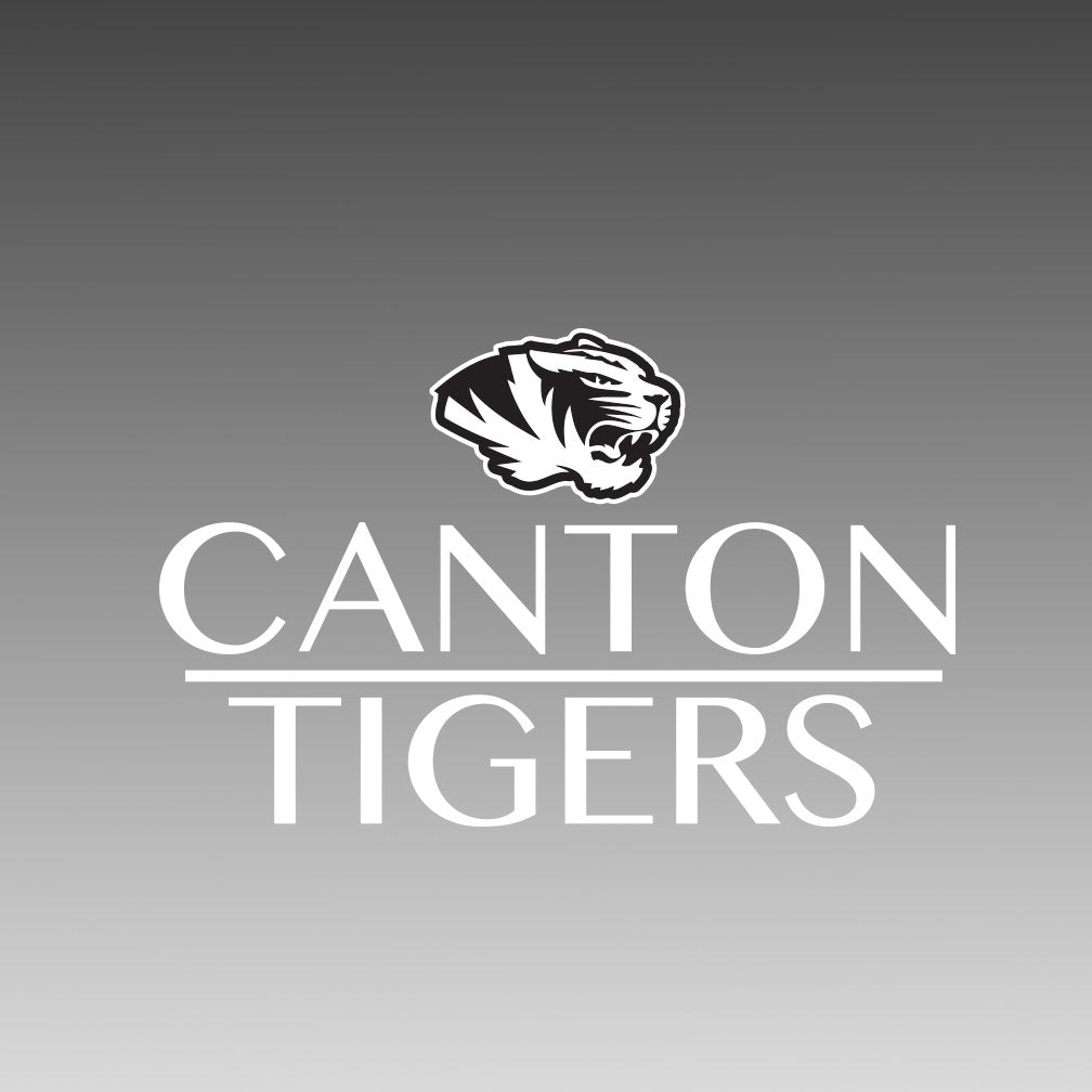 Canton Window Decal Stack Tiger