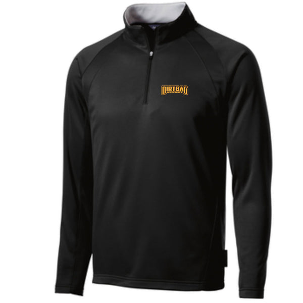 Dirtbag Baseball Fleece Lined 1/4 Zip