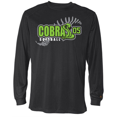 Cobras 05 Softball Drifit Long Sleeve
