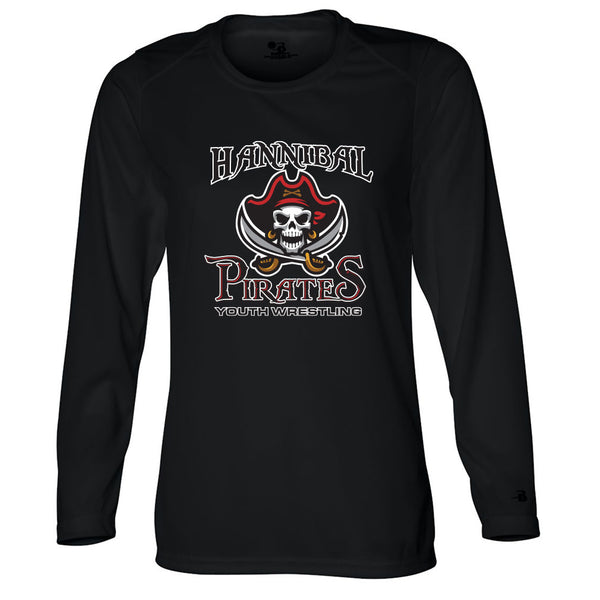 Hannibal Youth Wrestling Ladies Drifit Long Sleeve