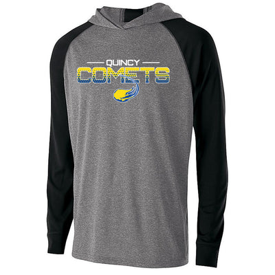 Quincy Comets Echo Drifit Light Weight Hoodie