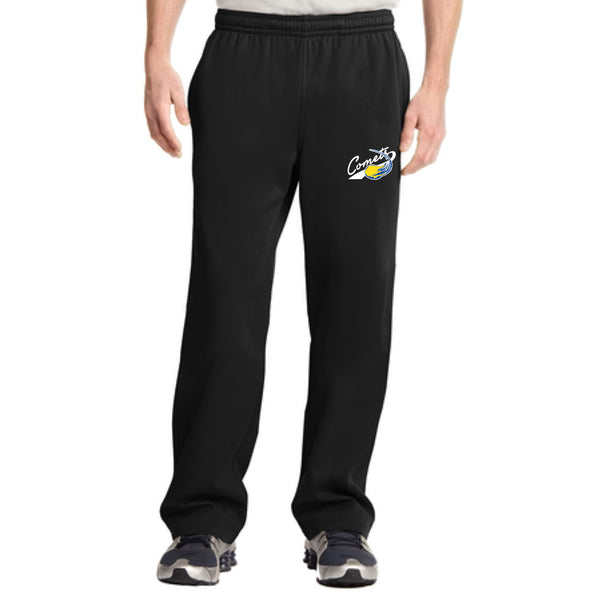 Quincy Comets Drifit Fleece Lined Pants